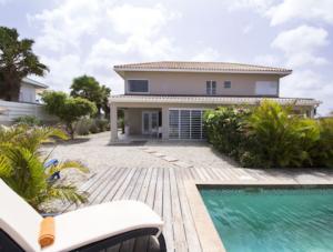Vista aan zee, Curacao