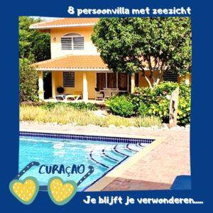Curacao vakantiehuis huren Jan Thiel